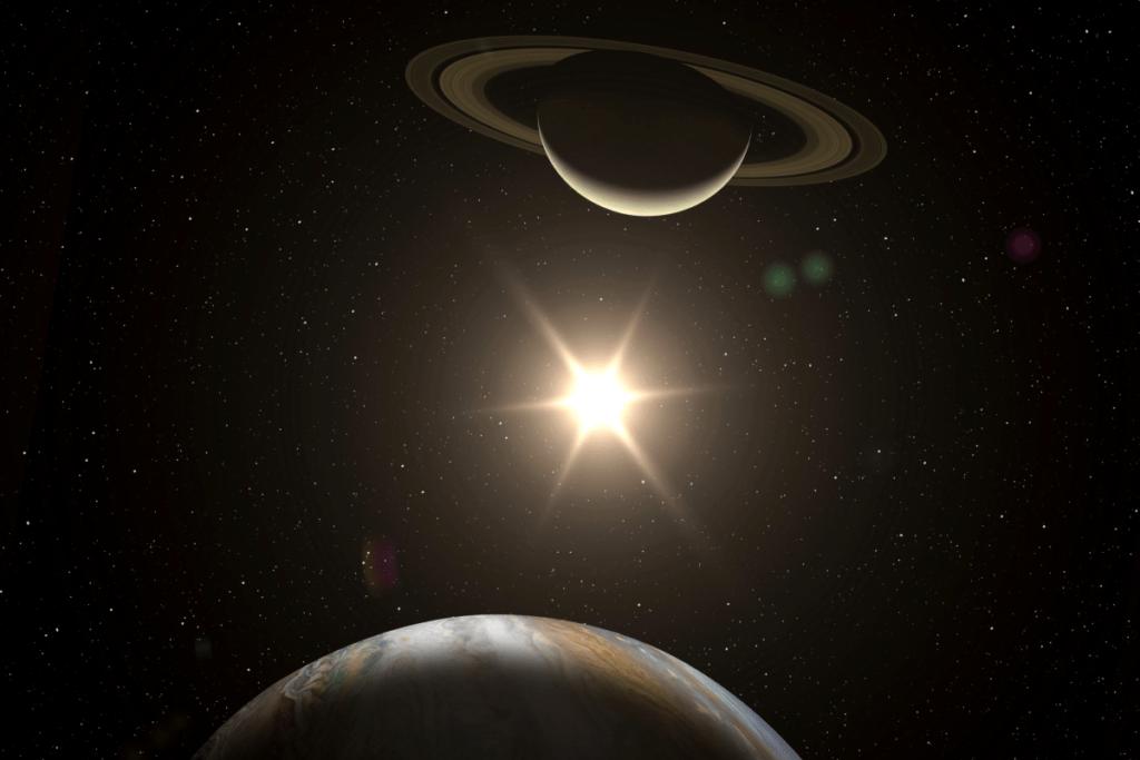 Соединение Юпитера и Сатурна в астрологии фото 2
