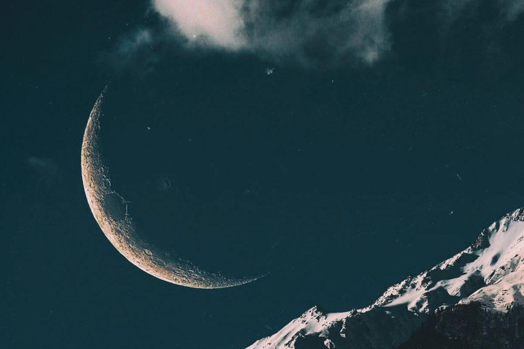 Лунное затмение фото 1