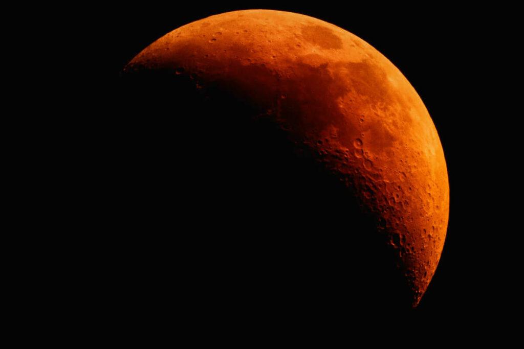 Лунное затмение фото 11
