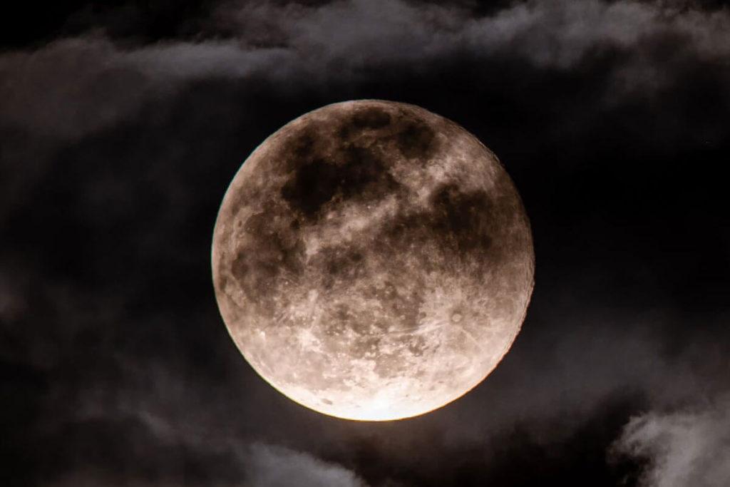 Лунное затмение фото 2