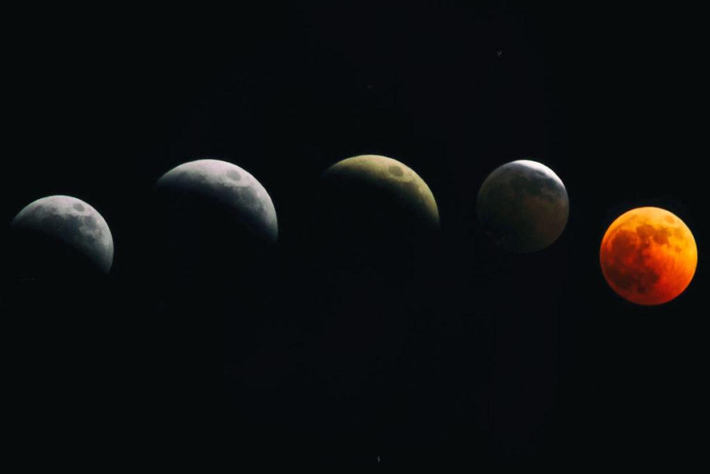 Лунное затмение фото 3