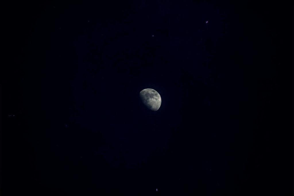 Лунное затмение фото 9
