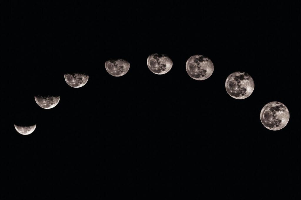 Лунный цикл фото 2