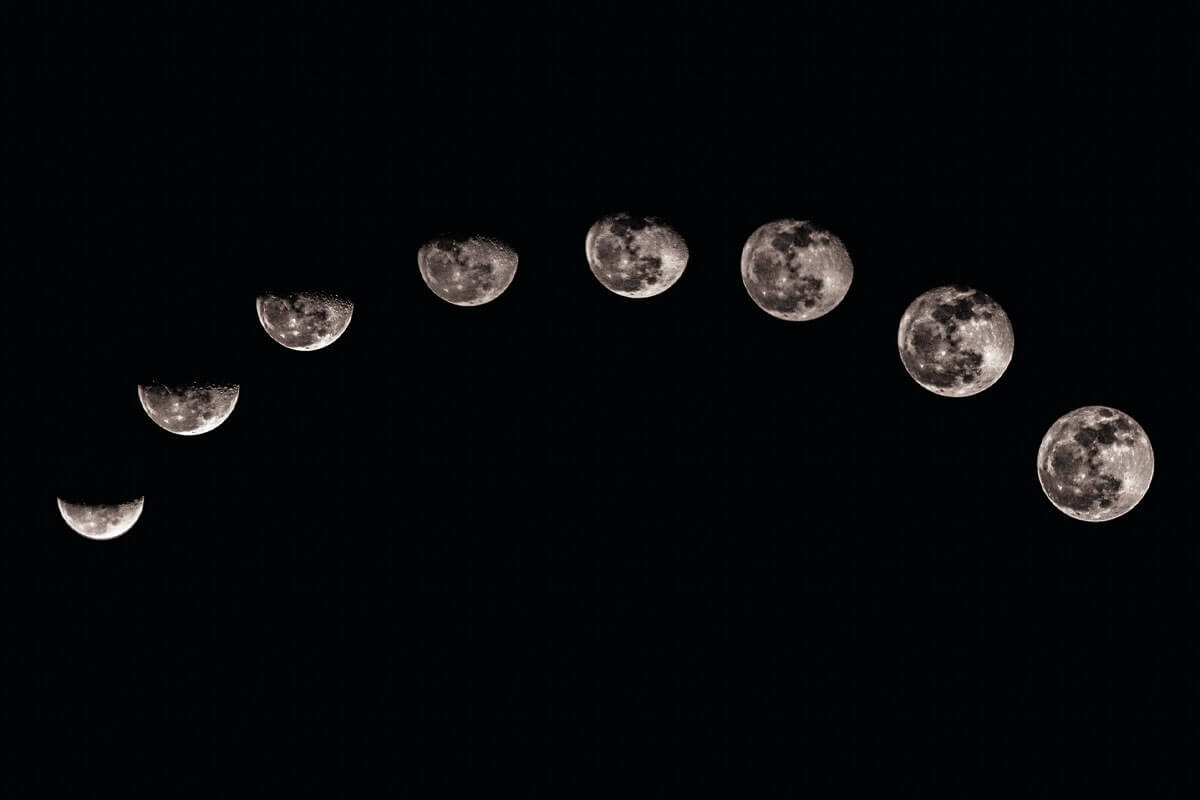 Лунный цикл фото 3
