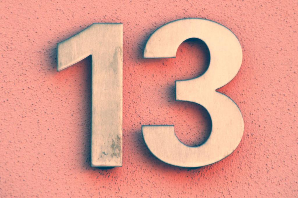 Значение числа 13 в нумерологии фото 1